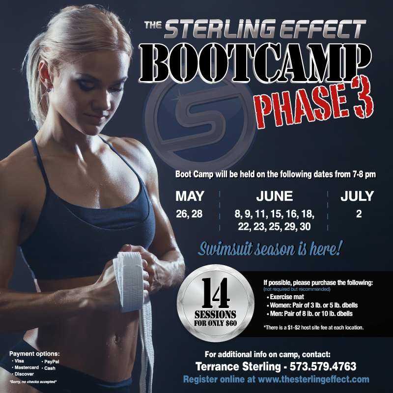 The Sterling Effect Adult Boot Camp Phase 3