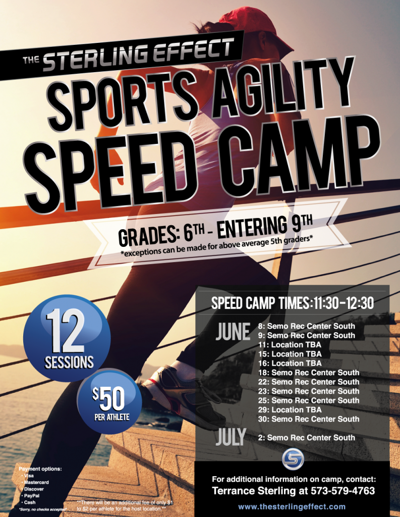 The Sterling Effect Sports Agility Speed Camp