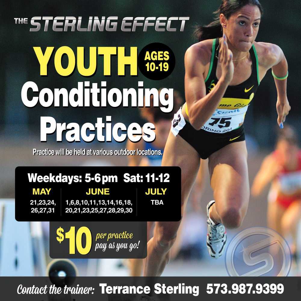 Youth Conditioning Practices - Cape Girardeau Personal Trainer
