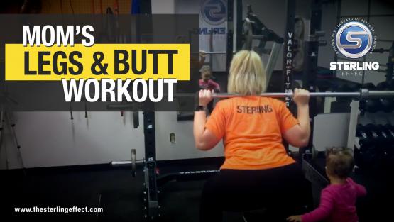 Mom's leg & butt workout