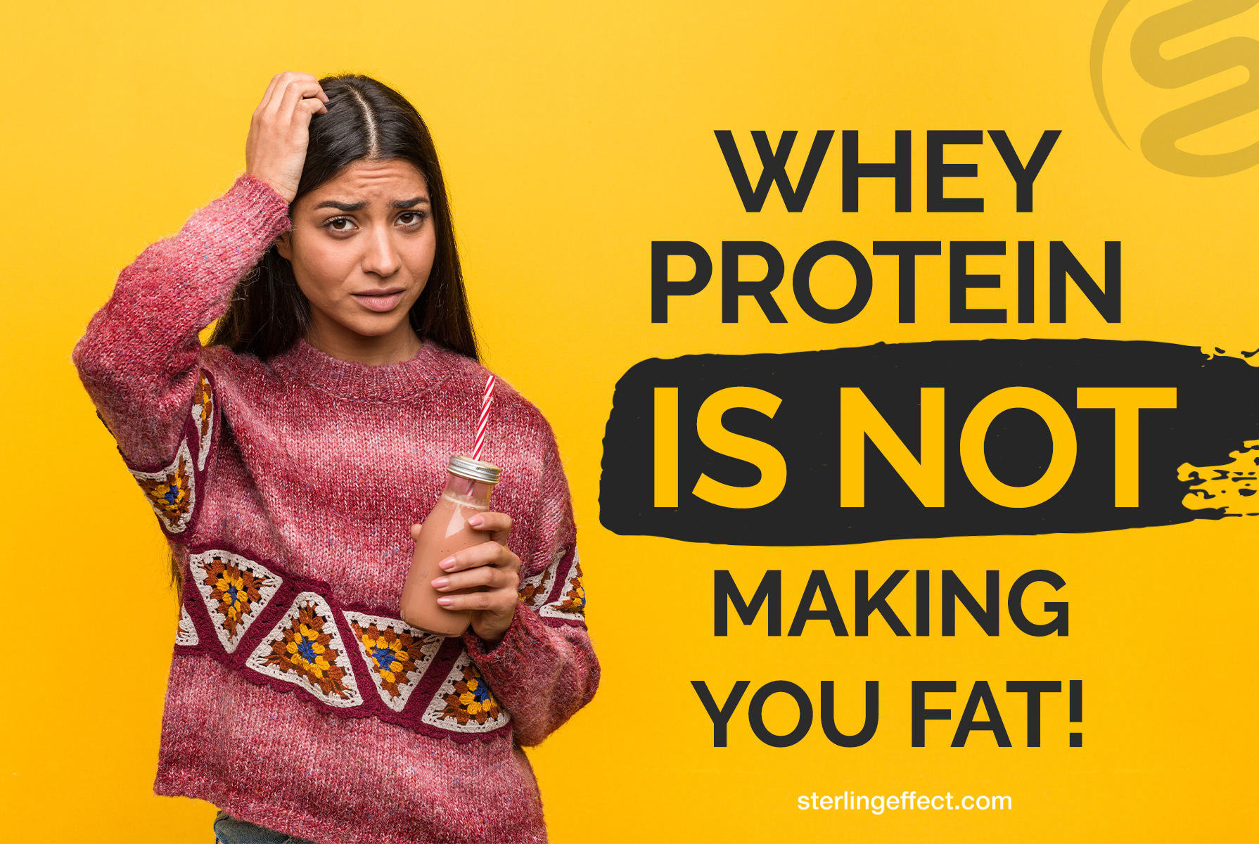 Whey Protein is NOT making you fat!